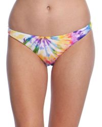 Polo Ralph Lauren - Spiral Tie Dye Devin Hipster Swimsuit Bottom - Lyst