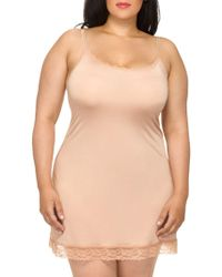Hanky Panky - Plus Silky Skin Fitted Full Slip - Lyst