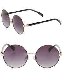 Steve Madden - 50mm Round Sunglasses - Lyst