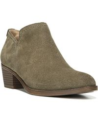 Naturalizer - Zarie Suede Ankle Boots - Lyst