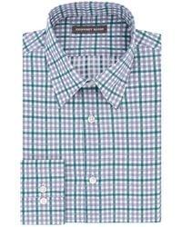 Geoffrey Beene - Plaid Dress Shirt - Lyst