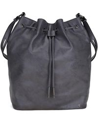 Elliott Lucca - Marion Drawstring Leather Bag - Lyst