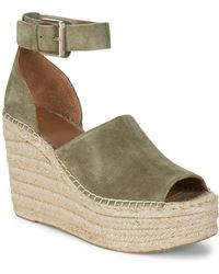 Marc Fisher - Adalyn Suede Espadrilles - Lyst
