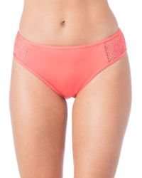 Kenneth Cole Reaction - Cutout Hipster Bikini Bottom - Lyst
