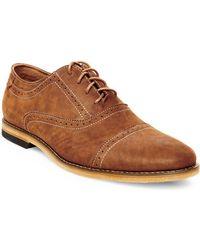 Steve Madden - Joistt Leather Oxfords - Lyst