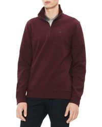 Calvin Klein - The Classic Quarter-zip Jumper - Lyst