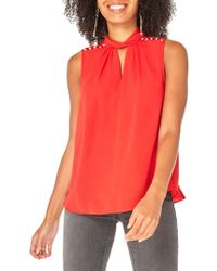 Dorothy Perkins - Twisted Choker Top - Lyst