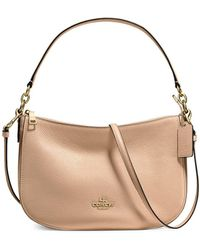 39916fa208ea COACH - Chelsea Pebble Leather Crossbody Bag - Lyst