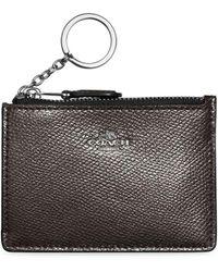 COACH - Mini Skinny Leather I.d. Case - Lyst