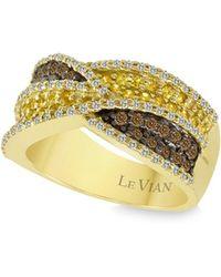 Le Vian - 14k Honey Gold & Yellow Sapphire Ring - Lyst