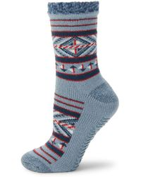 Sperry Top-Sider - Patterned Crew Socks - Lyst