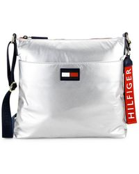 Tommy Hilfiger - Leah Metallic Crossbody - Lyst