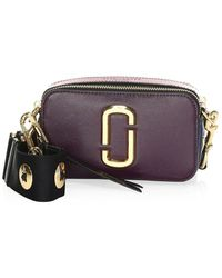 Marc Jacobs - Snapshot Leather Camera Bag - Lyst