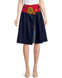 Weekend by Maxmara - Floral A-line Skirt - Lyst