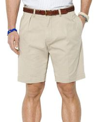 Polo Ralph Lauren - Classic-fit Pleated 9 Inch Chino Shorts - Lyst