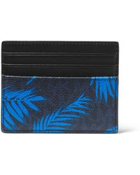 Michael Kors - Jet Set Palm Tree Card Case - Lyst
