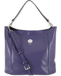 Lodis - Parker Convertible Leather Bucket Bag - Lyst