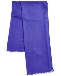 Lord & Taylor - Oversize Wool And Cashmere Wrap Scarf - Lyst