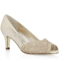 Adrianna Papell - Lace Elegant Dress Court Shoes - Lyst