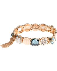 Lonna & Lilly - Tassel-accented Stretch Bracelet - Lyst