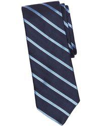 Brooks Brothers Red Fleece - Chevron Striped Silk Tie - Lyst
