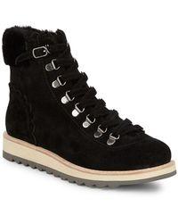Kate Spade - Maira Combat Boots - Lyst