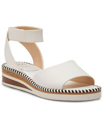 Vince Camuto - Mariena Leather Wedge Sandals - Lyst