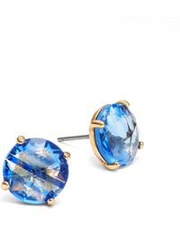 Kate Spade - Bright Ideas Crystal Stud Earrings - Lyst