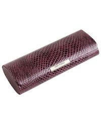 Corinne Mccormack - Crocodile Print Magnetic Glasses Case - Lyst