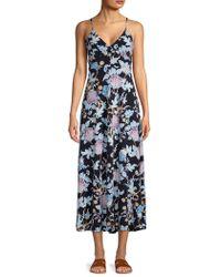 5557710c954c Tommy Bahama Marabella Blooms Maxi Dress in Black - Lyst