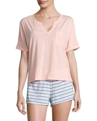 Honeydew Intimates - Pocket Tee And Printed Shorts Set - Lyst