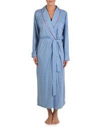 Claudel - Printed Long Robe - Lyst