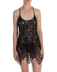 In Bloom - Lace Scalloped Chemise - Lyst