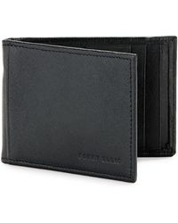 Perry Ellis Rifd-blocking Leather Portfolio Wallet