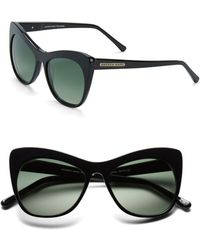 Marc New York | 53mm Cat Eye Sunglasses | Lyst