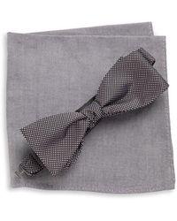 Tallia Orange - Bow Tie And Pocket Square Set - Lyst