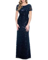 Decode 1.8 Sequin Burnout Gown