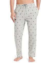 Polo Ralph Lauren - Pony-printed Jersey Pyjama Trousers - Lyst