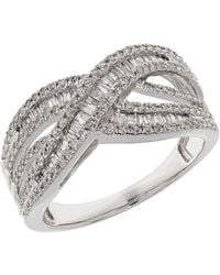 Lord & Taylor - Diamond And 14k White Gold Ring 0.75tcw - Lyst