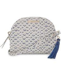 5883a5c3960b Brahmin - Vreeland Leah Leather Crossbody Bag - Lyst