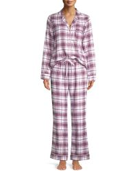 fca3dc4ed9 Ugg Raven Plaid Flannel Pyjama Set - Size S in Blue - Lyst
