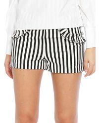 Walter Baker - Jeanne Striped Shorts - Lyst