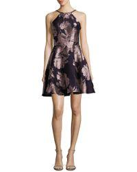 Xscape - Halterneck A-line Dress - Lyst