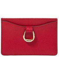 Lauren by Ralph Lauren - Mini Leather Card Case - Lyst