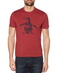 Original Penguin - Amped Pete Logo Graphic T-shirt - Lyst