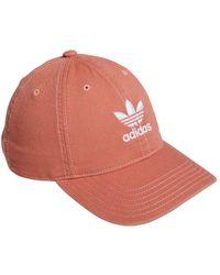 adidas - Originals Logo Baseball Cap - Lyst
