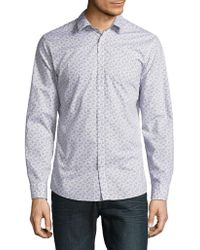SELECTED - Floral Button-down Shirt - Lyst