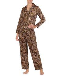 Lauren by Ralph Lauren - Flannel Pyjamas - Lyst