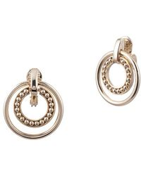 Ralph Lauren - Orbital Clip-on Earrings - Lyst