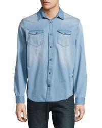 Calvin Klein Jeans - Chambray Sportshirt - Lyst